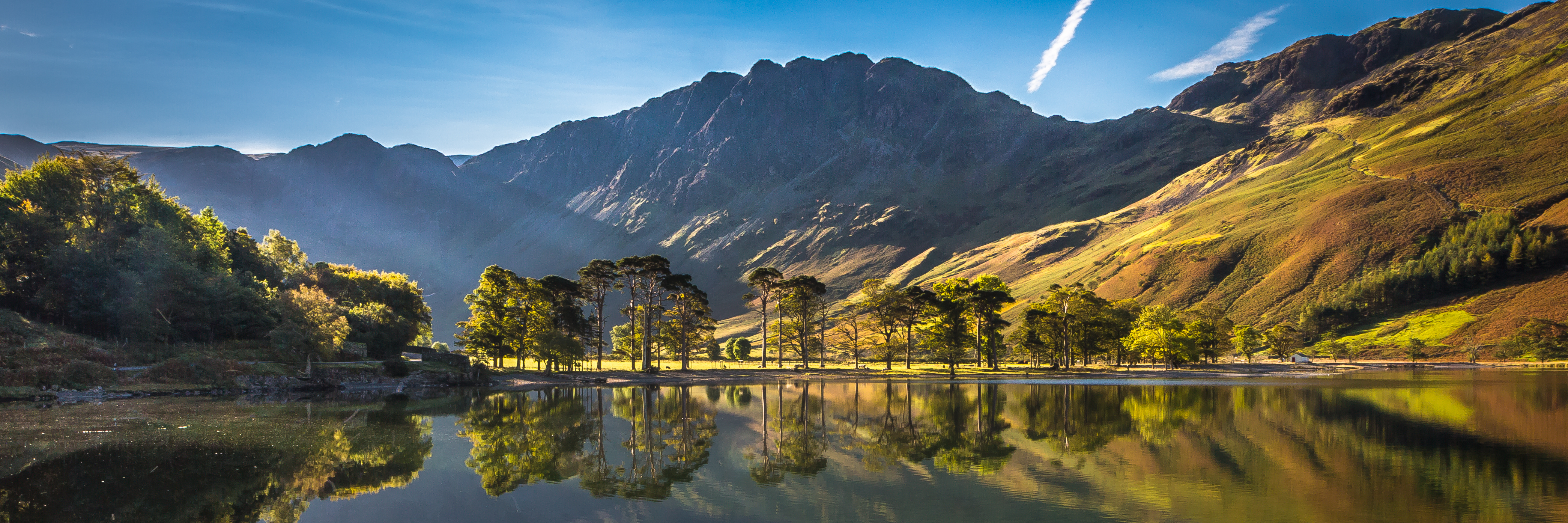 Buttermere Bathed in morning light