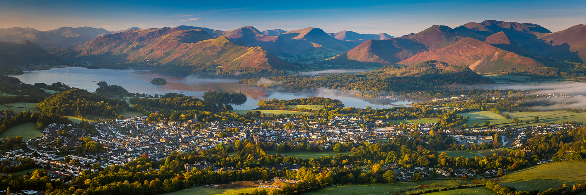 A Summer Dawn over Keswick
